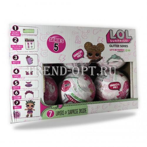 Набор Кукла LOL в шаре Lol Surprise 5 серия 6 штук