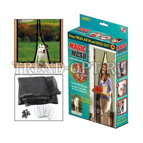 Magic Mesh москитная дверная сетка на магнитах