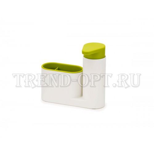 Органайзер с дозатором для мыла SinkBase