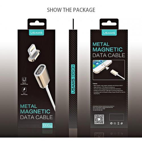 Магнитный кабель Apple/Micro USB