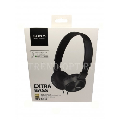 Наушники Sony Extra Bass MDR-ZX 320