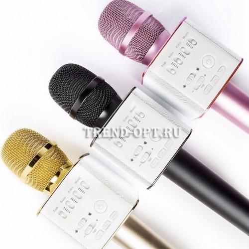 Беспроводной микрофон-караоке с встроенным динамиком Tuxun Q9