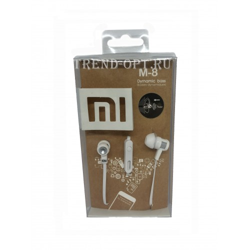Вакуумные наушники Mi M8