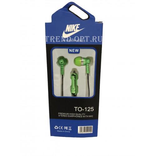 Вакуумные наушники Nike to-125