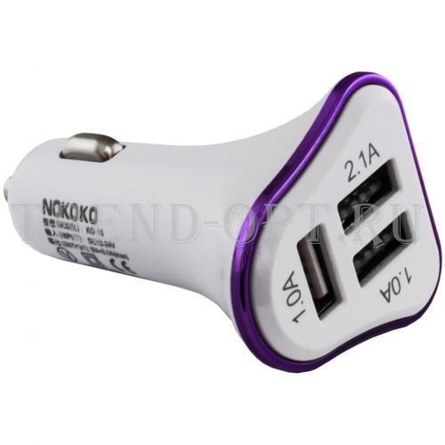 Автомобильное зарядное устройство NOKOKO KO-15