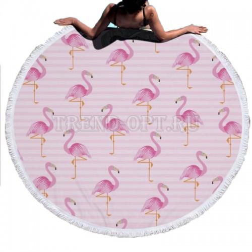 Покрывало для пляжа Фламинго