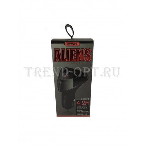Автомобильное зарядное устройство Remax  RCC-304 Alien