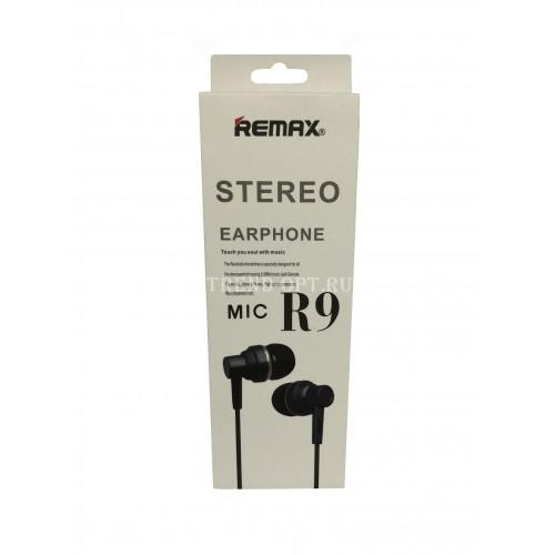 Наушники Remax Stereo Mic R9