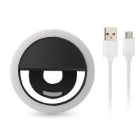 Световое кольцо для селфи с USB