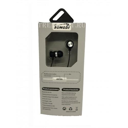 Вакуумные наушники Songdi SD-301