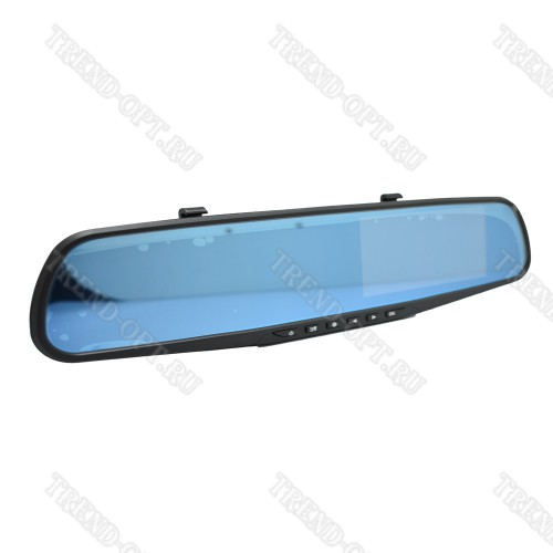 Зеркало-видеорегистратор Vehicle Blackbox  с камерой заднего вида DVR