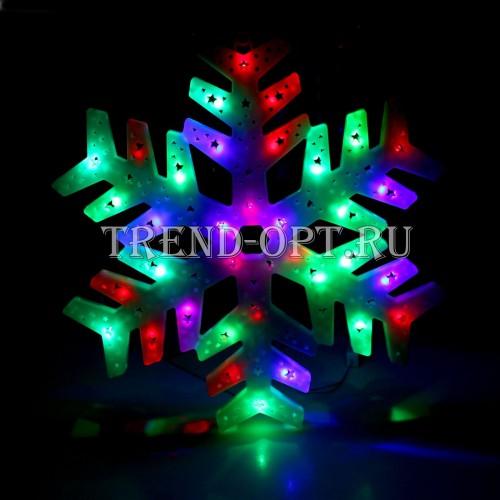 Фигура новогодняя Снежинка LED