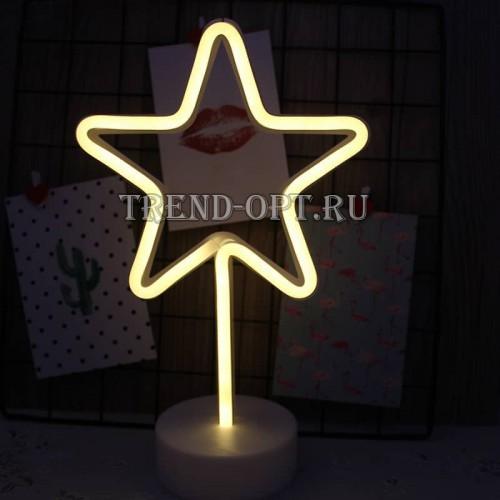 Неоновый светильник Звезда