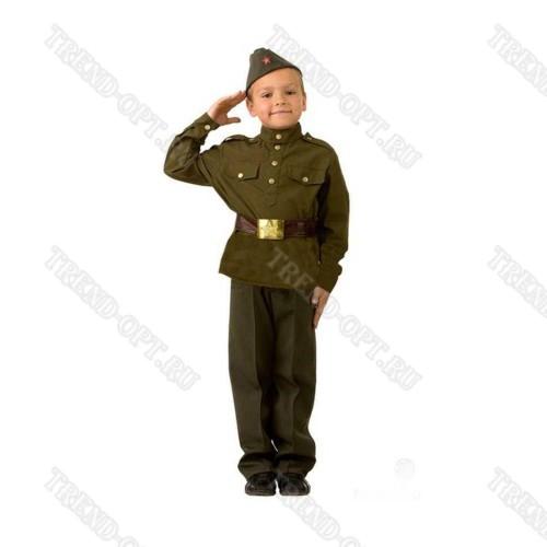 Детский костюм солдата для мальчика