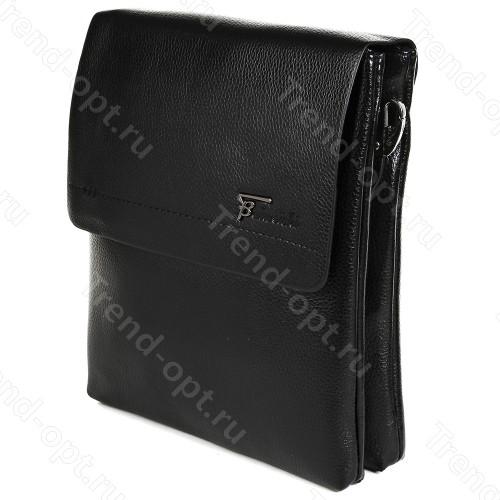 Барсетка для документов мужская коричневая 101513