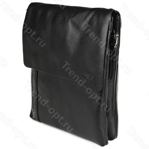 Барсетка для документов мужская коричневая 101516