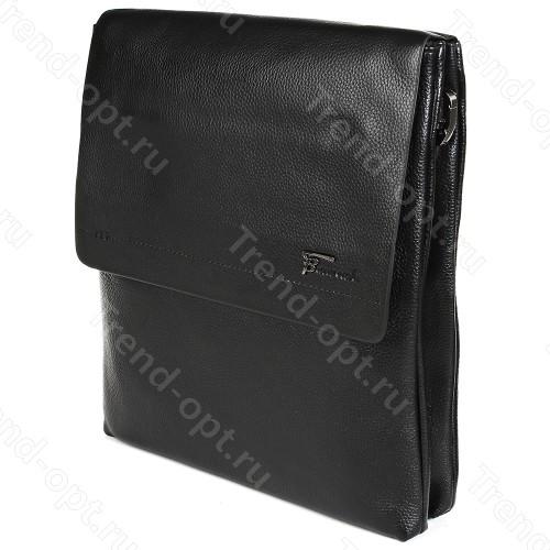 Барсетка для документов мужская коричневая 101518