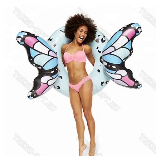 Надувной круг бабочка с крыльями 160 см