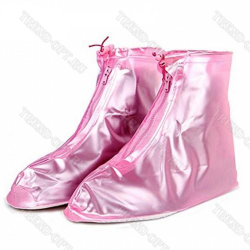 Водонепроницаемые бахилы на обувь многоразовые