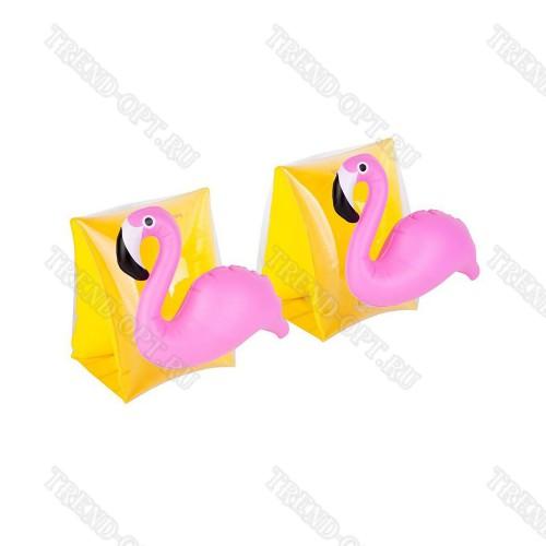 Нарукавники для плавания детские Фламинго