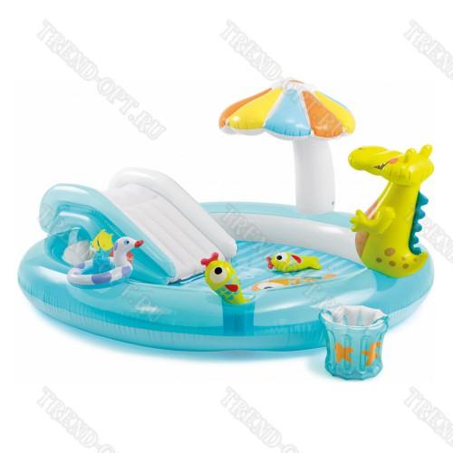 Надувной комплекс для детей с бассейном 101587