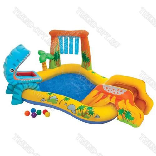 Надувной комплекс для детей с бассейном 101588