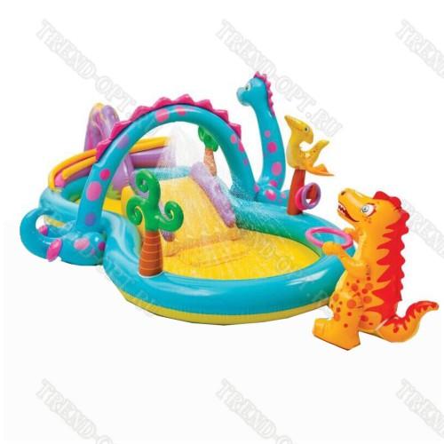 Надувной комплекс для детей с бассейном 101577