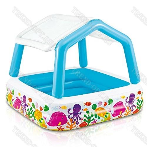 Надувной комплекс для детей с бассейном 101593