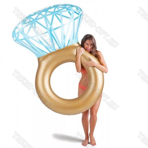 Надувной круг Кольцо с бриллиантом