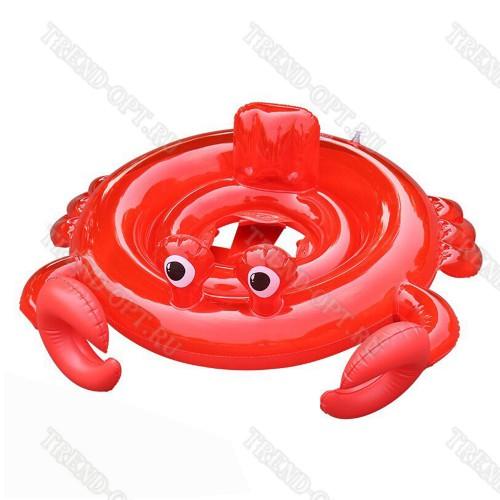 Детский надувной круг Краб