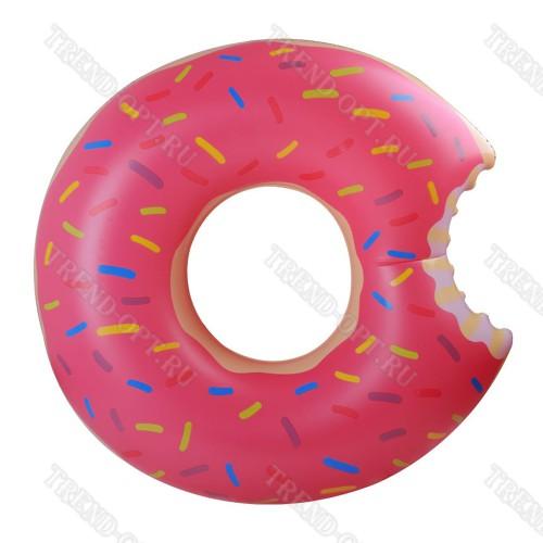 Надувной круг пончик 80см