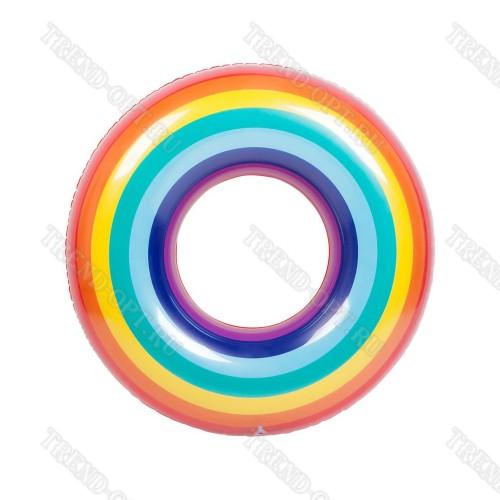 Надувной круг Мультиколор