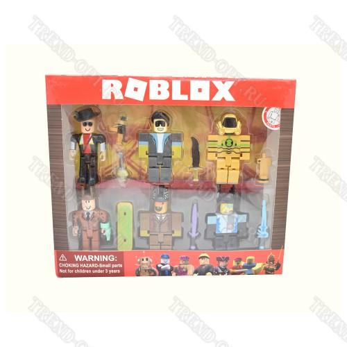 Набор 6 фигурок Roblox