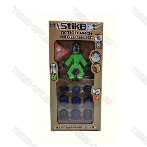 Набор фигурка Stikbot Шлемы