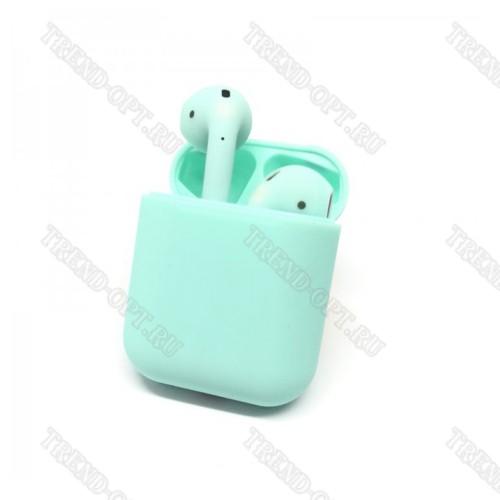 Беспроводные наушники TWS I9S голубые