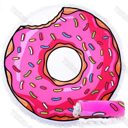 Парео Розовый Пончик