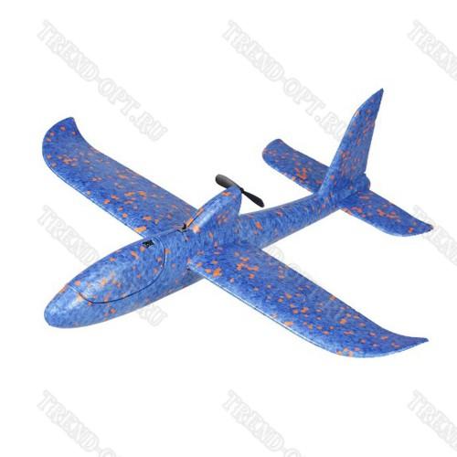 Пенопластовый самолёт с моторчиком