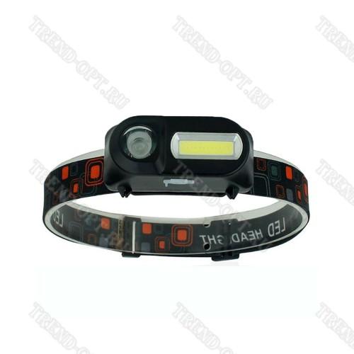 Налобный аккумуляторный фонарь KX-1804