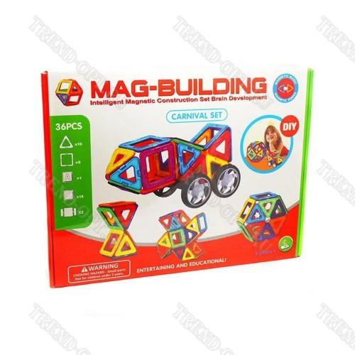 Магнитный конструктор Mag-Building 36 деталей оптом