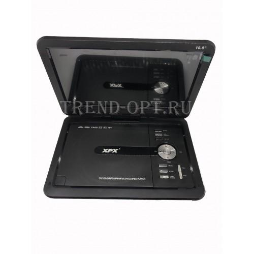 Портативный DVD плеер XPX EA-1028 с TV тюнером 10,8